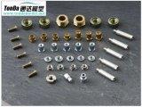 Mechanische Delen van het messing, CNC het Messing dat van de Precisie Producten machinaal bewerken