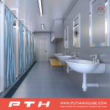 China, Naves de la norma ISO Container Home con dormitorio, cuarto de baño