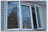 Thermischer Bruch-Aluminiumflügelfenster-Fenster mit Moskito-Netz
