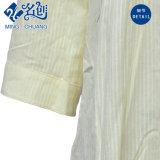 混合されたカラー中間袖の綿除去パターンボタンの緩い女性ブラウス