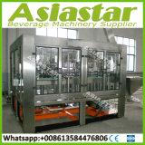 Bouteille de vin de liqueur de verre automatique machine à laver le plafonnement de l'équipement de remplissage