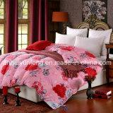 Colcha de enchimento de poliéster/Consolador/edredão para Duas Queen/King/Full/ cama de solteiro