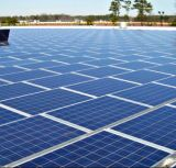 sistema a energia solare Griglia-Legato tetto del magazzino 200kw