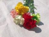 가정 결혼식 훈장 도매를 위한 유액 고품질 가짜 카네이션 인공 꽃