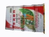 Земледелие упаковывая прокатанный BOPP сплетенный PP мешок химически удобрения с вкладышем