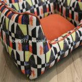 Venda por grosso de luxo coloridos populares produtos Pet calorosamente as camas