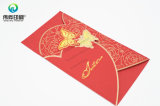Gold Stamping Paper Printing Wedding Card (Papillon)
