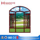 China Golden Supplier Ventana de bastidor de pivote de aluminio