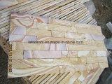 حجر رمليّ صفراء حجارة ثقافيّ لأنّ جدار [كلدّينغ]