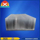 Aleta refrigerando do dissipador de calor de alumínio para o filtro de Ative Power