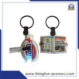 형식에 의하여 주문을 받아서 만들어지는 선전용 금속 열쇠 고리 플라스틱 열쇠 고리 LED 열쇠 고리