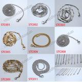 Fabrik-Edelstahl-materielles Kreuz und Anhänger-Halskette, Edelstahl-Armband (IO-st00C)