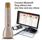 De mini Draadloze Handbediende Spreker van de Microfoon Bluetooth