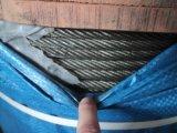 Веревочка стального провода лифта для подъемной машины трения