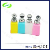 De HDPE de alta qualidade vaso de perfume de plástico de embalagem de cosméticos