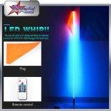 2017 горячая продажа RGB Оптоволоконный Автомобильная Антенна светодиодный индикатор и индикатор взбивает флаг Лампа быстрого освобождения с флагом для ATV UTV Rzr багги внедорожники