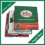 Boîte faite sur commande bon marché recyclable à pizza de carton