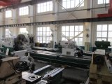 (CNC) Macchina per il taglio di metalli resistente orizzontale del tornio della base piana (WC61160Z-WC61250Z)
