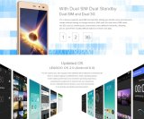 Nouveau Original Leagoo Z5c 5.0inch 3G Qhd Mobile Phone Android 6.0 Sc7731 Quad Core 1GB + 8GB Dual SIM GSM / WCDMA 5.0MP GPS Téléphone portable Téléphone intelligent Gold