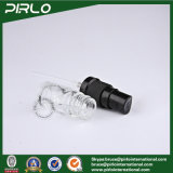 botellas de cristal transparentes del aerosol del negro del uso del petróleo esencial 5ml