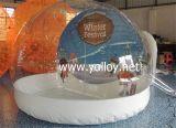Globo de neve inflável para férias