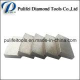 다이아몬드 안내장을%s 돌 절단 도구 화강암 세그먼트는 톱날을