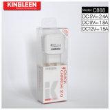 Enchufe de fábrica del cargador de batería del USB del cargador C868 solo 2.0 rápidos modelo de Kingleen