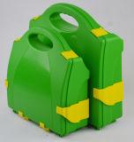ABS de Groene Uitrusting van de Eerste hulp van het Geval van de Kleur Harde