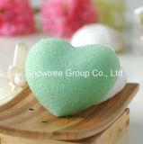Éponges konjac cosmétiques normales végétales élevées de la fibre 100% d'herbe