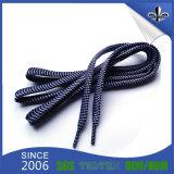 Dobles caras planas de poliéster impresión cordones para las ventas