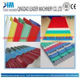 La toiture ondulée de PVC/UPVC couvre la chaîne de production