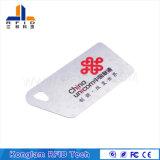 Подгонянная карточка PVC франтовская RFID шелковой ширмы цвета