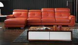 Sofá secional da tela macia moderna da mobília da sala de visitas (UL-NSC106)