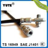 POINT SAE approuvé J1401 boyau de frein hydraulique de 1/8 pouce