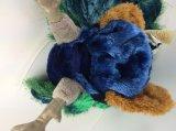 Juguete suave relleno felpa relleno del pavo real