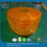 Het oranje Dubbele Geribbelde Gordijn van de Strook van de Deur van pvc van het anti-Insect