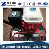 Trowel concreto portátil da potência do motor de gasolina do mini punho