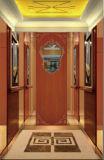 مسافر مصعد مع ملك جهاز تحكّم