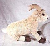 Juguete suave relleno cabra de la felpa