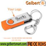 Flash Drive USB al por mayor de 1 GB ~ 64 GB giratoria con el precio más barato logotipo personalizado