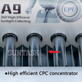 Aquecedor de água solar de pressão integrada (A9H) com marca de chave solar, En12976