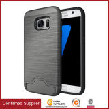 Cassa ibrida del telefono mobile di Kickstand della fessura per carta dell'armatura per il iPhone di Samsung