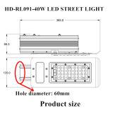 Уличный свет наивысшей мощности 40W СИД Ce аттестованный RoHS