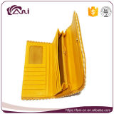 Fani Recentste Nieuw Pu Dame Leather Purse met het Ontwerp van de Envelop