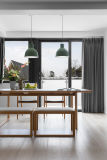 カシのクルミの木の木製の食堂の椅子