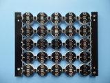 O dobro tomou o partido máscara preta da solda do PWB do núcleo do metal do diodo emissor de luz 2With Mk