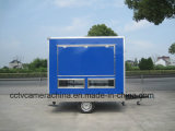 Voedsel van de Vrachtwagen van het Venster van drie Kanten het Open Openlucht Mobiele Mini (shj-MFS250)
