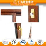 Aluminio y Windows&Doors compuesto de madera