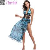 Платье Ty1023 пляжа лета маскировки способа женщин безрукавный