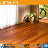 Del pegamento azulejo de suelo de madera del vinilo del PVC abajo